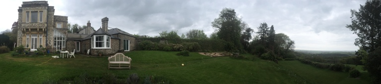 A panorama view of Nethergrove and its surroundings.