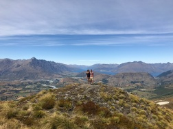 From the Coronet Peak.